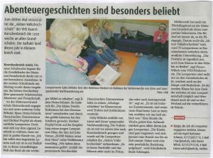 Zeitung Lesepaten