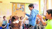 Unser Schulhund in der Zeitung